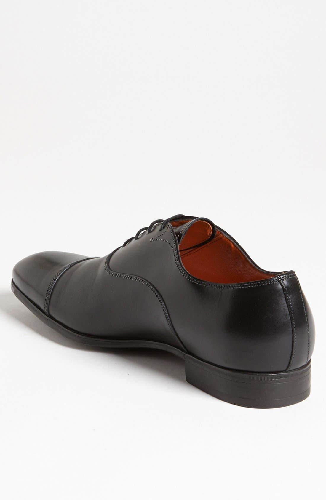 Alternate Image 2  - Santoni 'Salem' Cap Toe Oxford (Men)