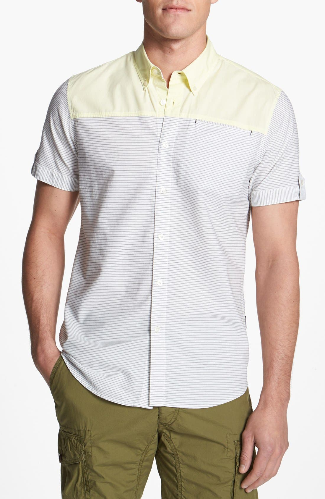 Main Image - 55DSL 'Sopelanacut' Woven Shirt