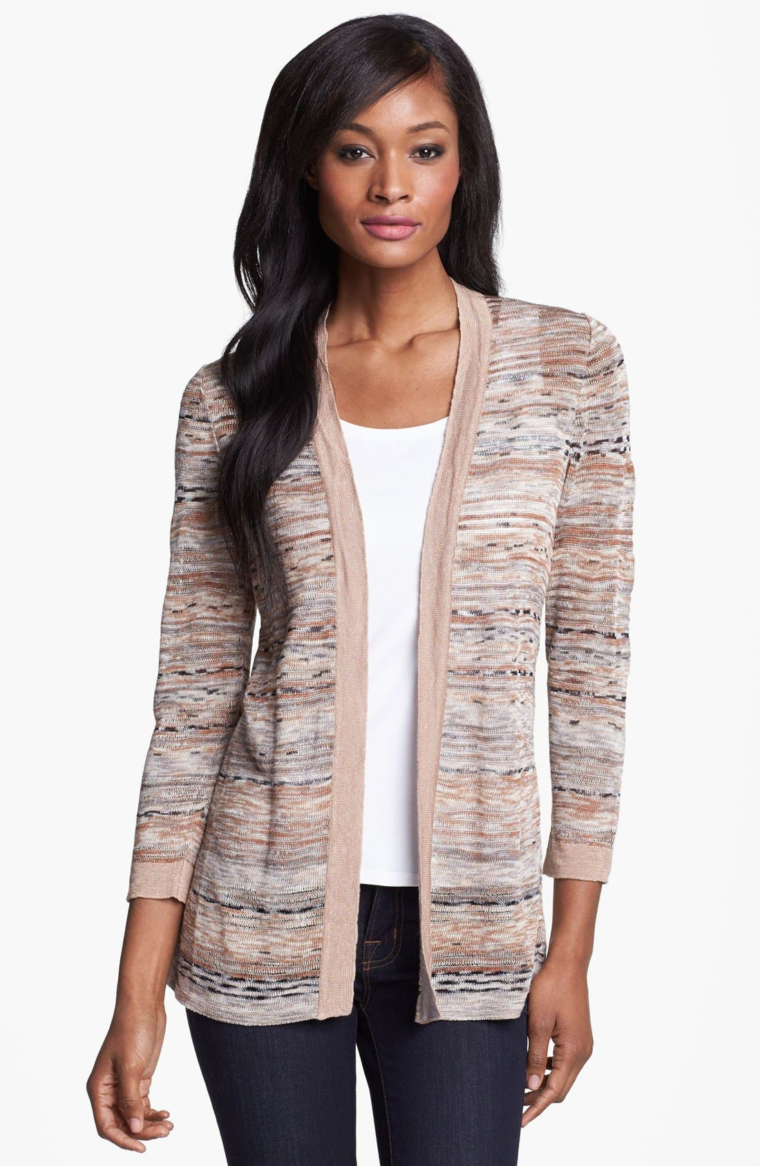Main Image - Nic + Zoe 'Heat Mix' Cardigan (Petite)