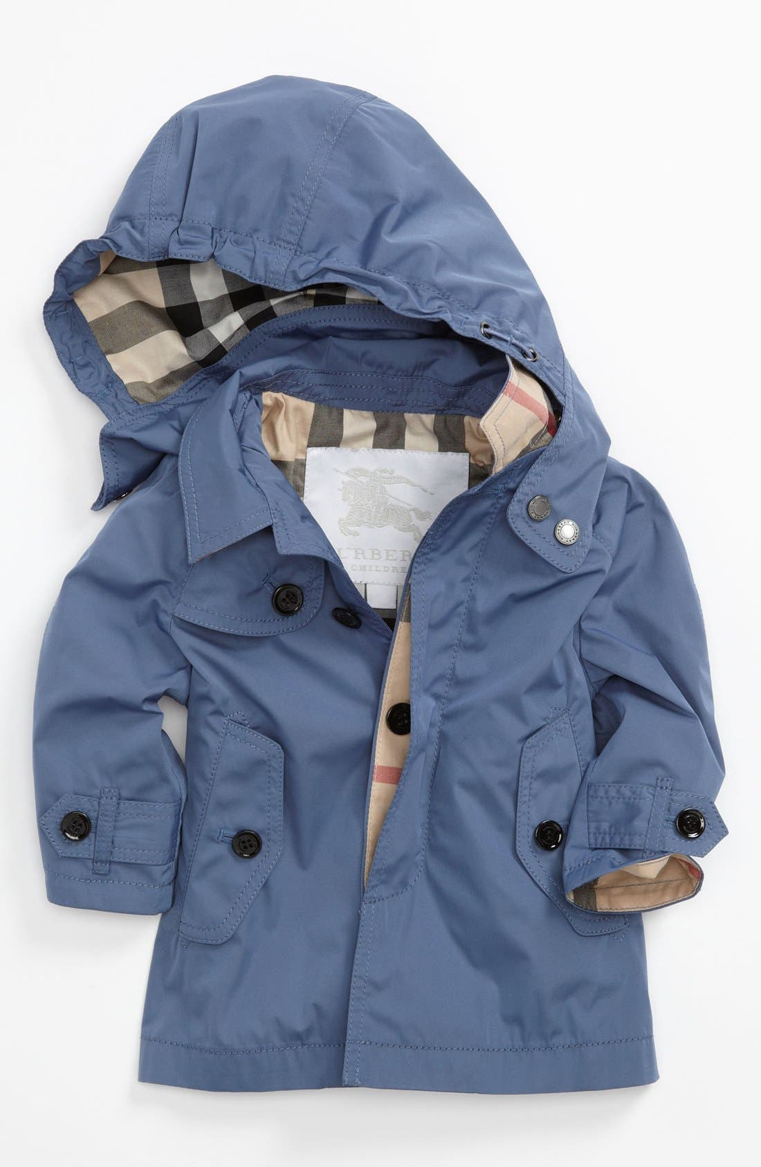 Alternate Image 1 Selected - Burberry 'River' Coat (Baby Boys)