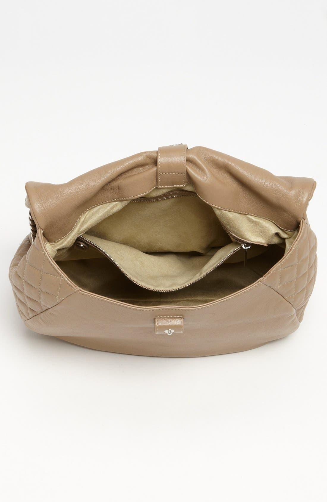 Alternate Image 3  - Jimmy Choo 'Becka Biker - Large' Leather Shoulder Bag