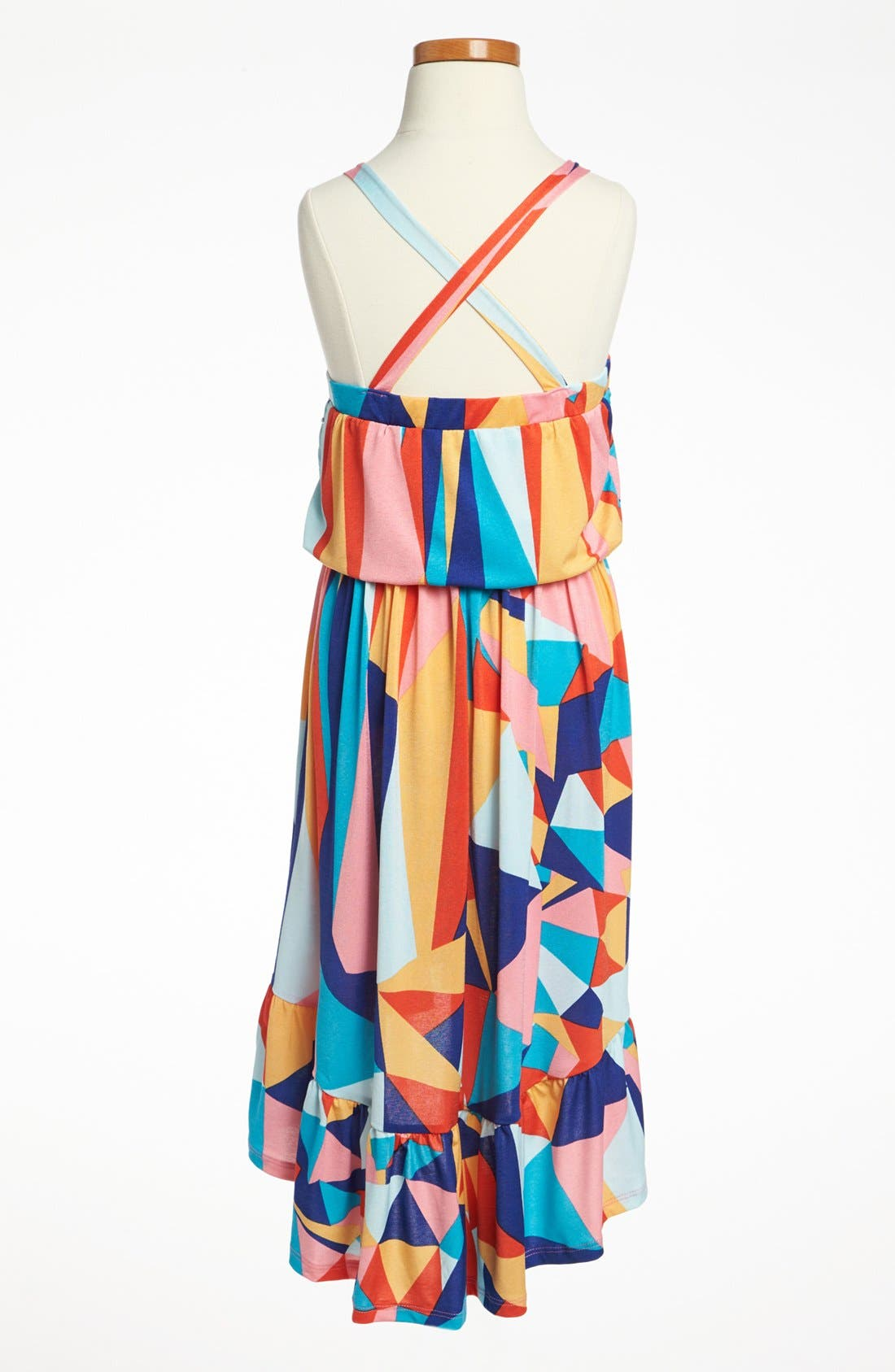 Alternate Image 2  - Mia Chica High/Low Dress (Big Girls)