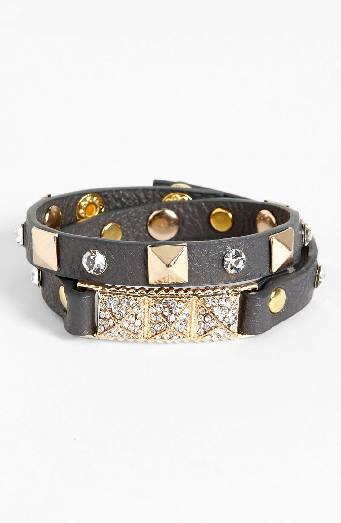 Main Image - BP. Stud Wrap Bracelet