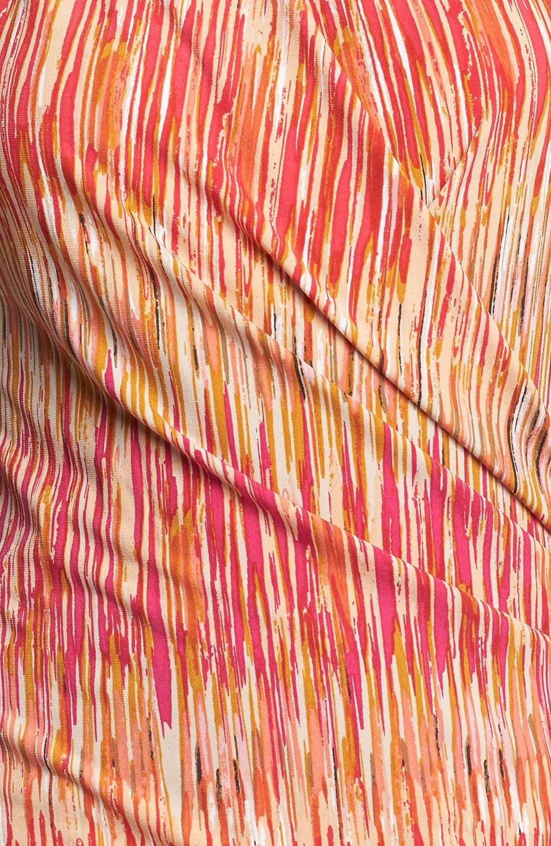 Alternate Image 3  - Vince Camuto Print Faux Wrap Top