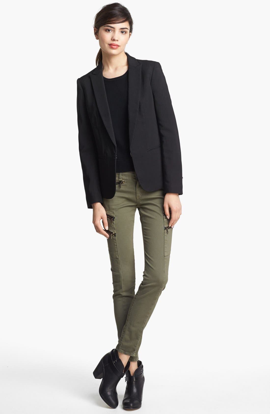 Alternate Image 2  - rag & bone 'Lillian' Lace-Up Back Blazer