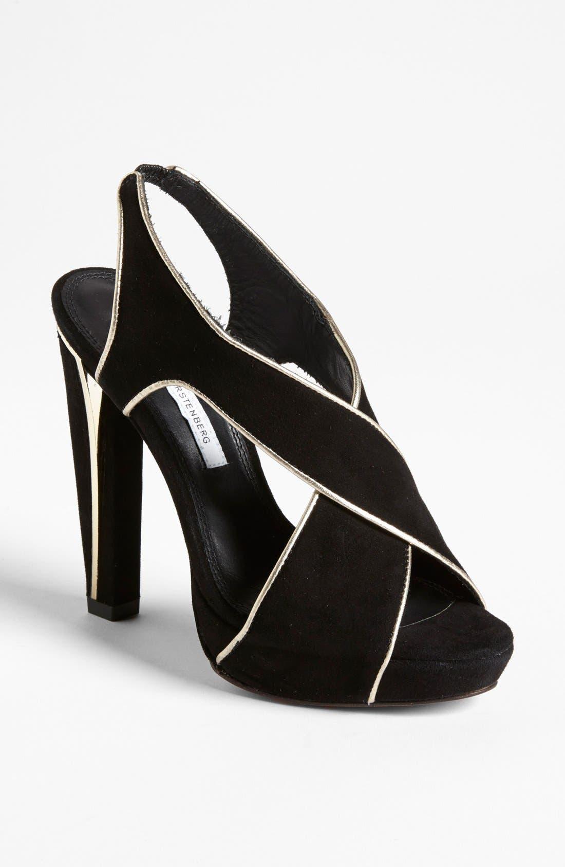 Alternate Image 1 Selected - Diane von Furstenberg 'Julia' Sandal (Online Only)