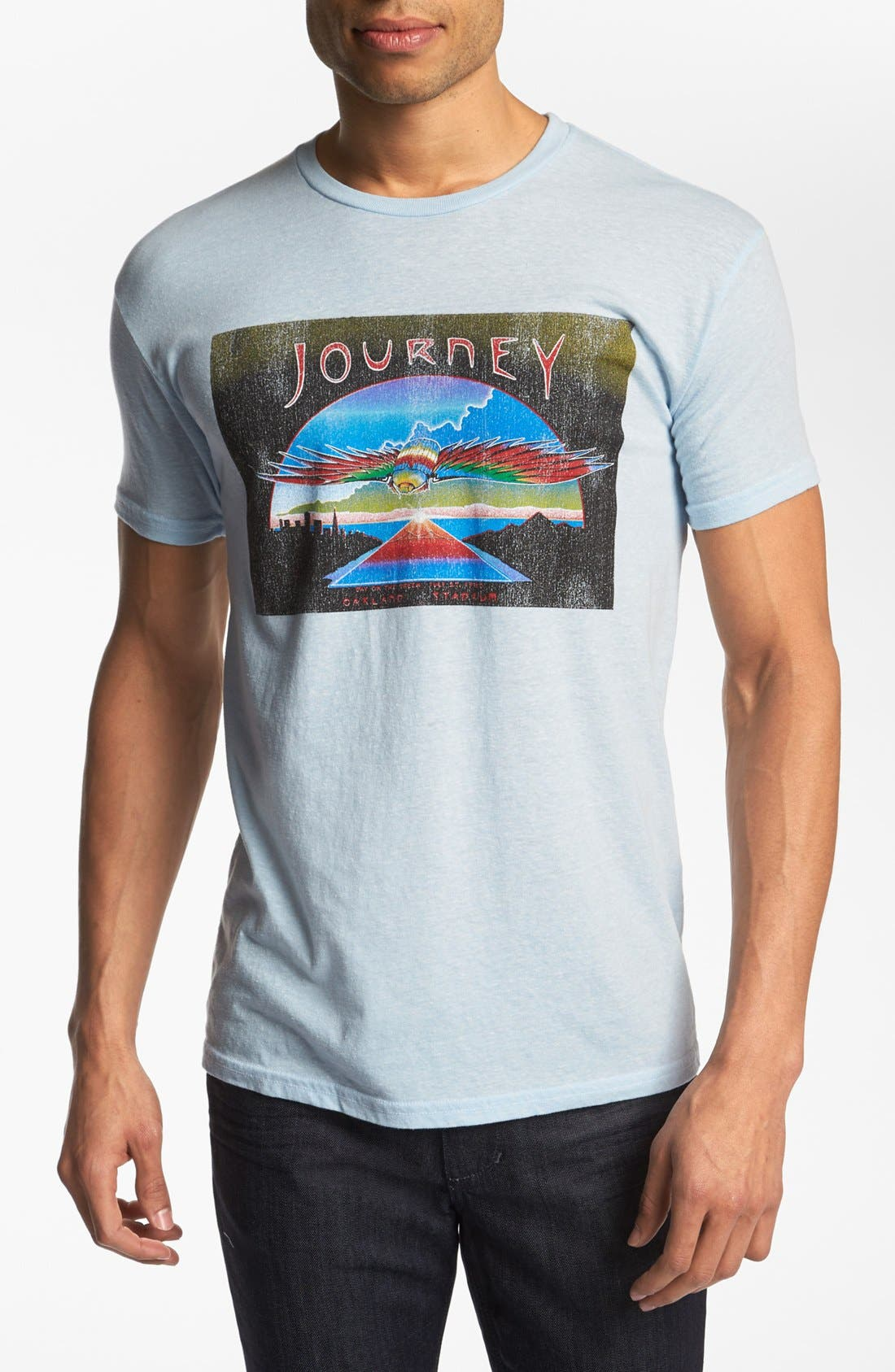 Alternate Image 1 Selected - Retro Brand 'Journey' T-Shirt