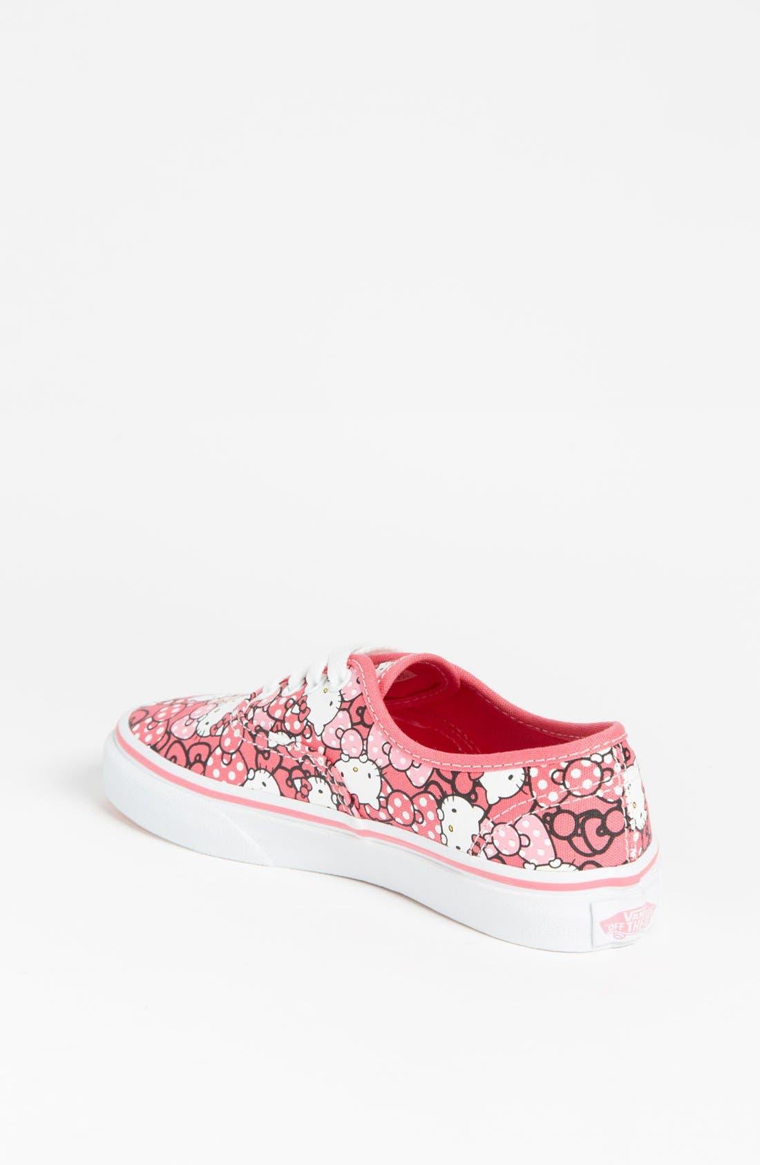 Alternate Image 2  - Vans 'Hello Kitty®' Sneaker (Baby, Walker, Toddler, Little Kid & Big Kid)