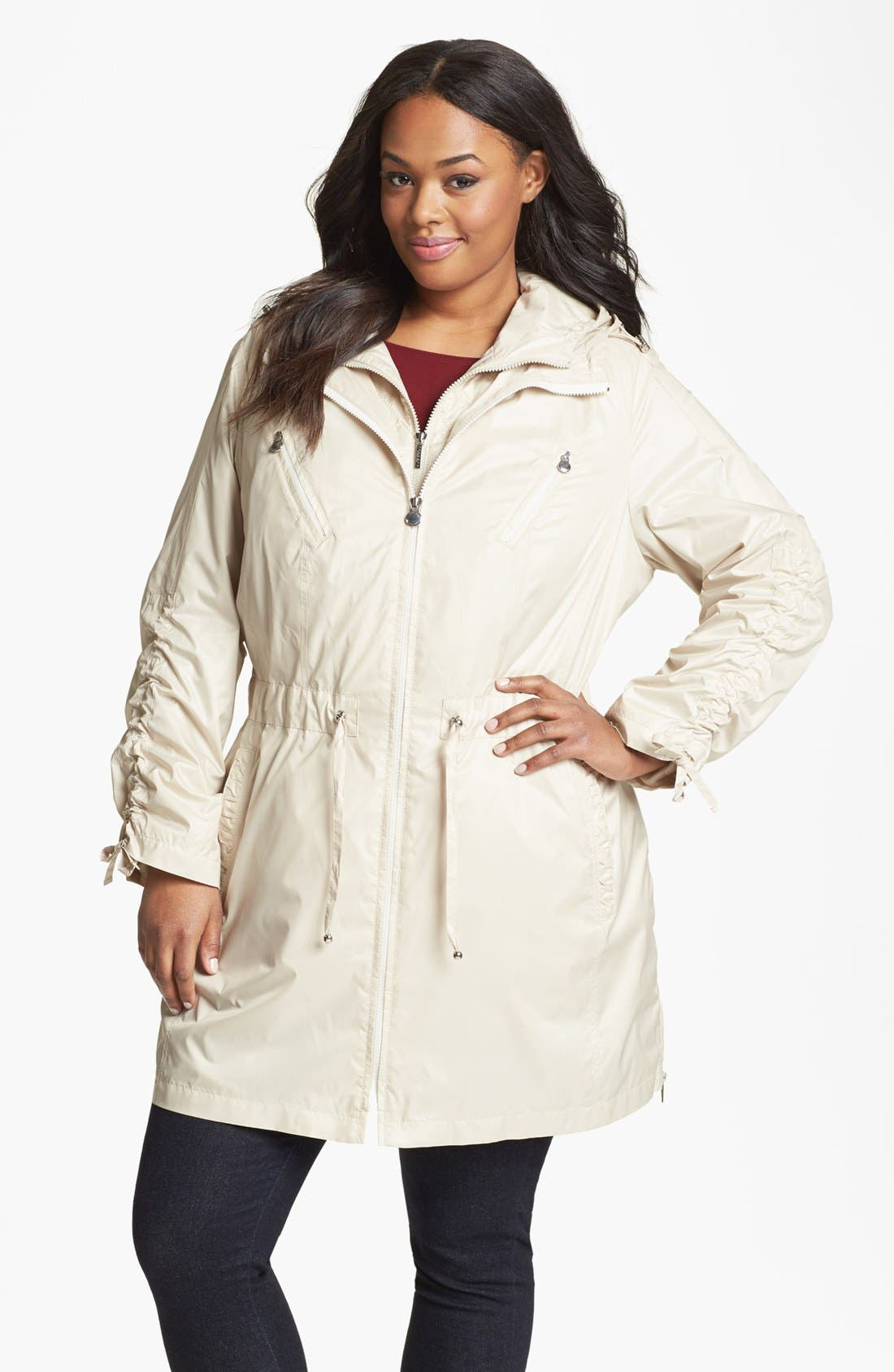 Alternate Image 1 Selected - Laundry by Shelli Segal 3-in-1 Jacket (Plus Size)