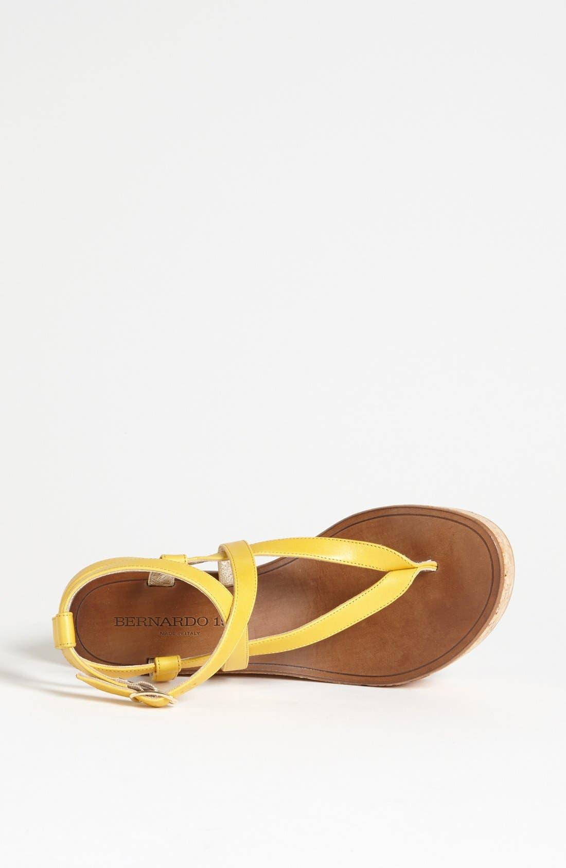 Alternate Image 3  - Bernardo Footwear 1946 Eden Roc Sandal