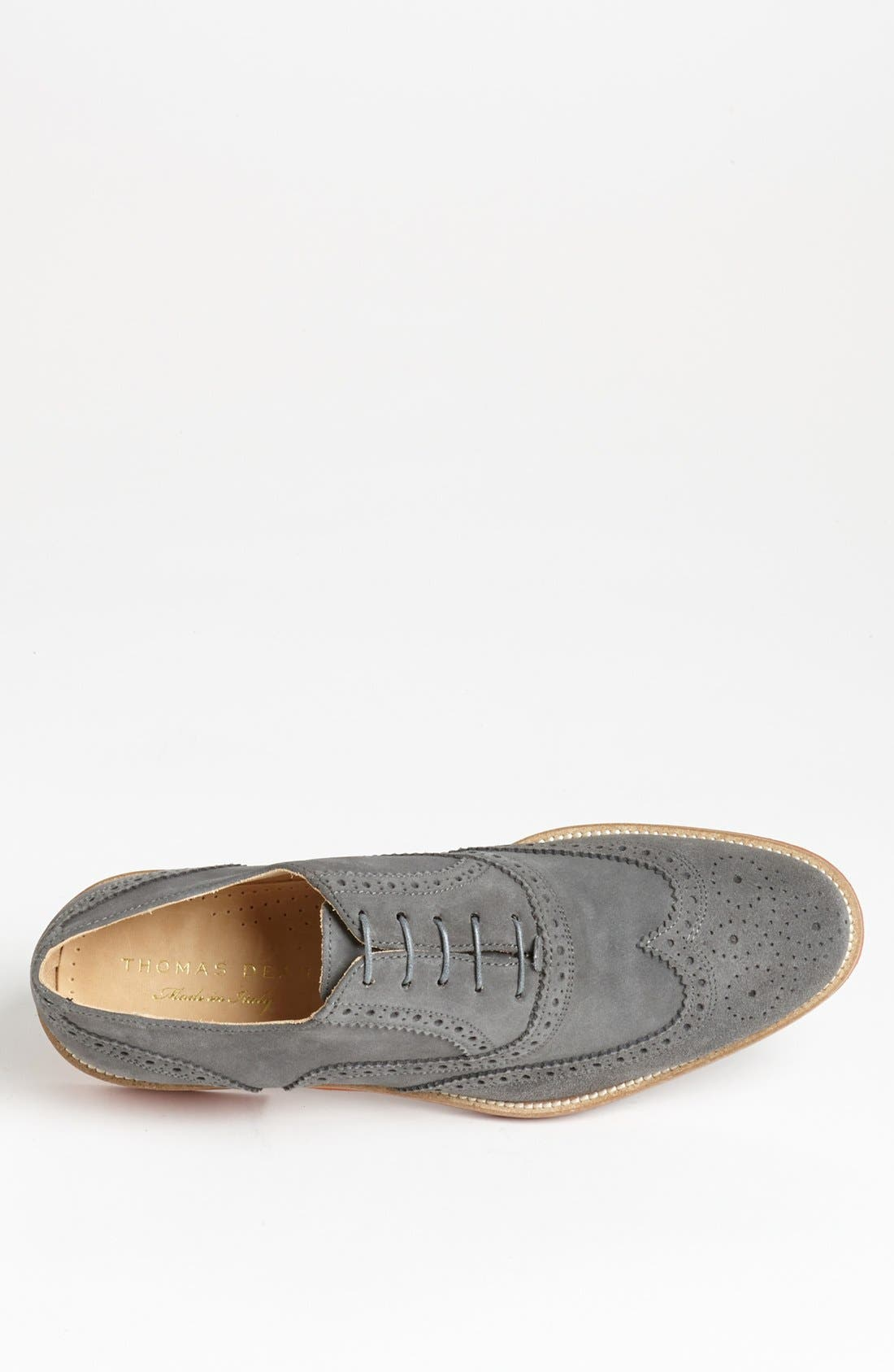 Alternate Image 3  - Thomas Dean Suede Wingtip
