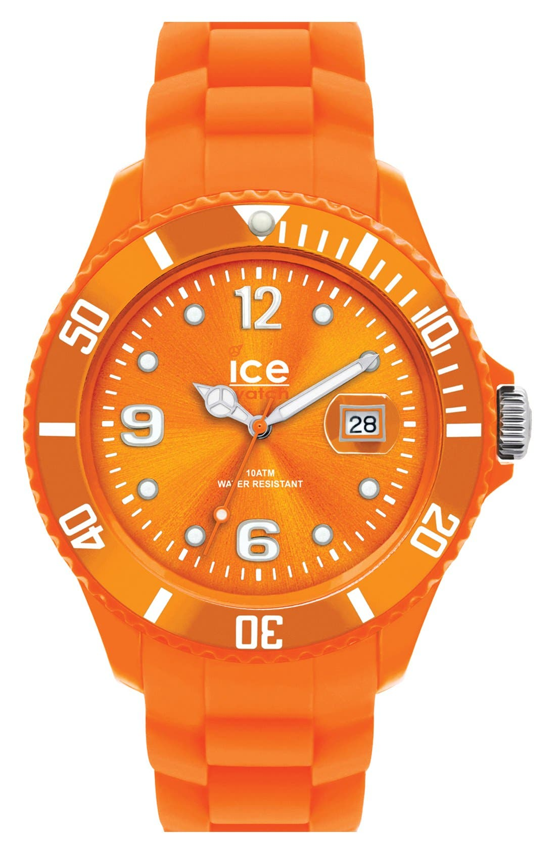 Alternate Image 1 Selected - ICE Watch 'Ice-Forever' Silicone Bracelet Watch, 43mm