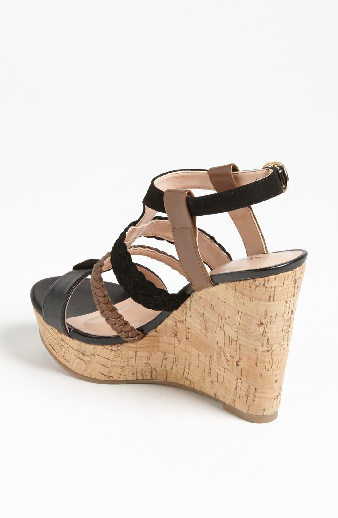 Alternate Image 2  - Sole Society 'Serina' Wedge Sandal
