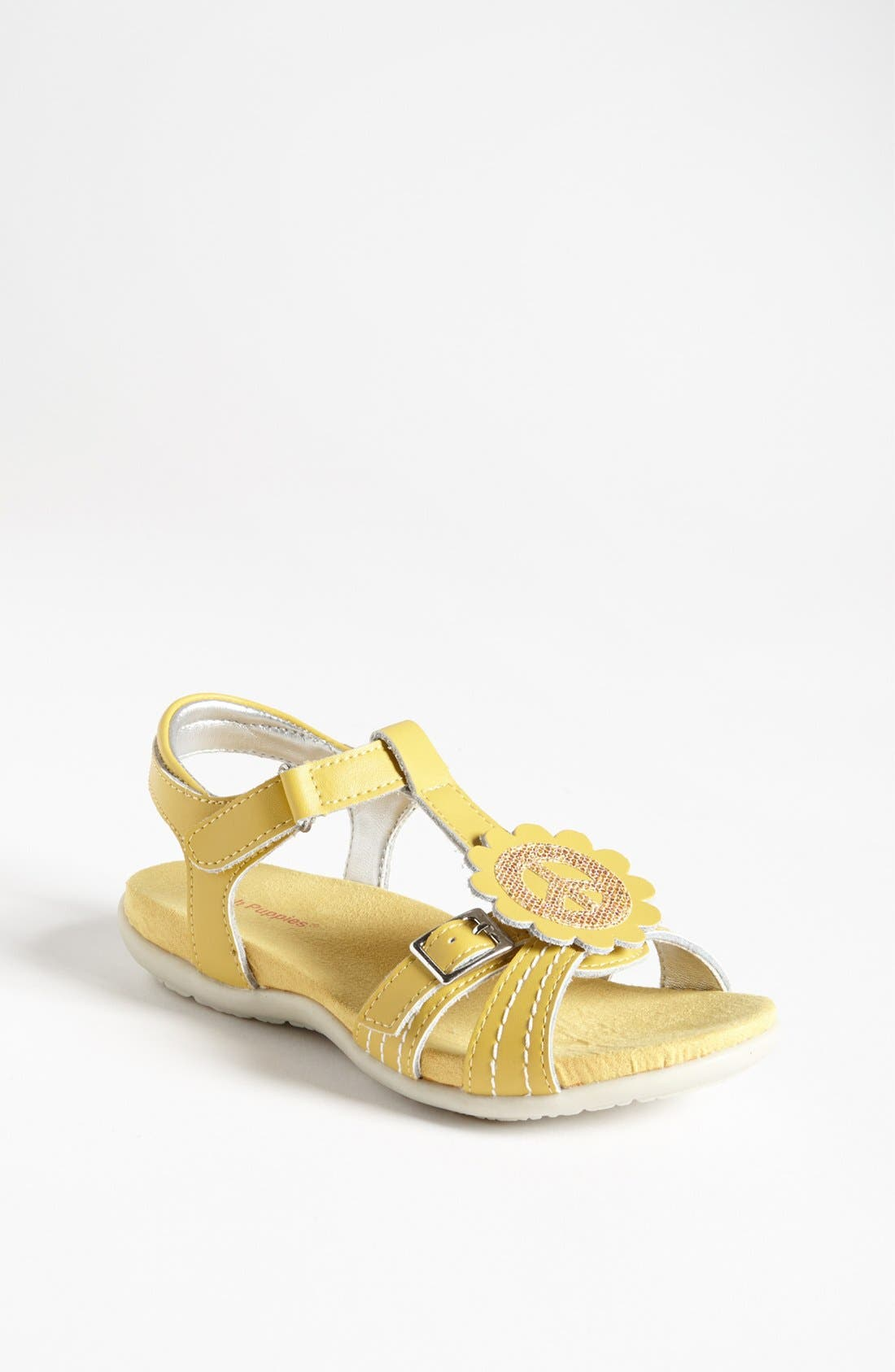 Alternate Image 1 Selected - Hush Puppies® 'Peace' Sandal (Toddler, Little Kid & Big Kid)
