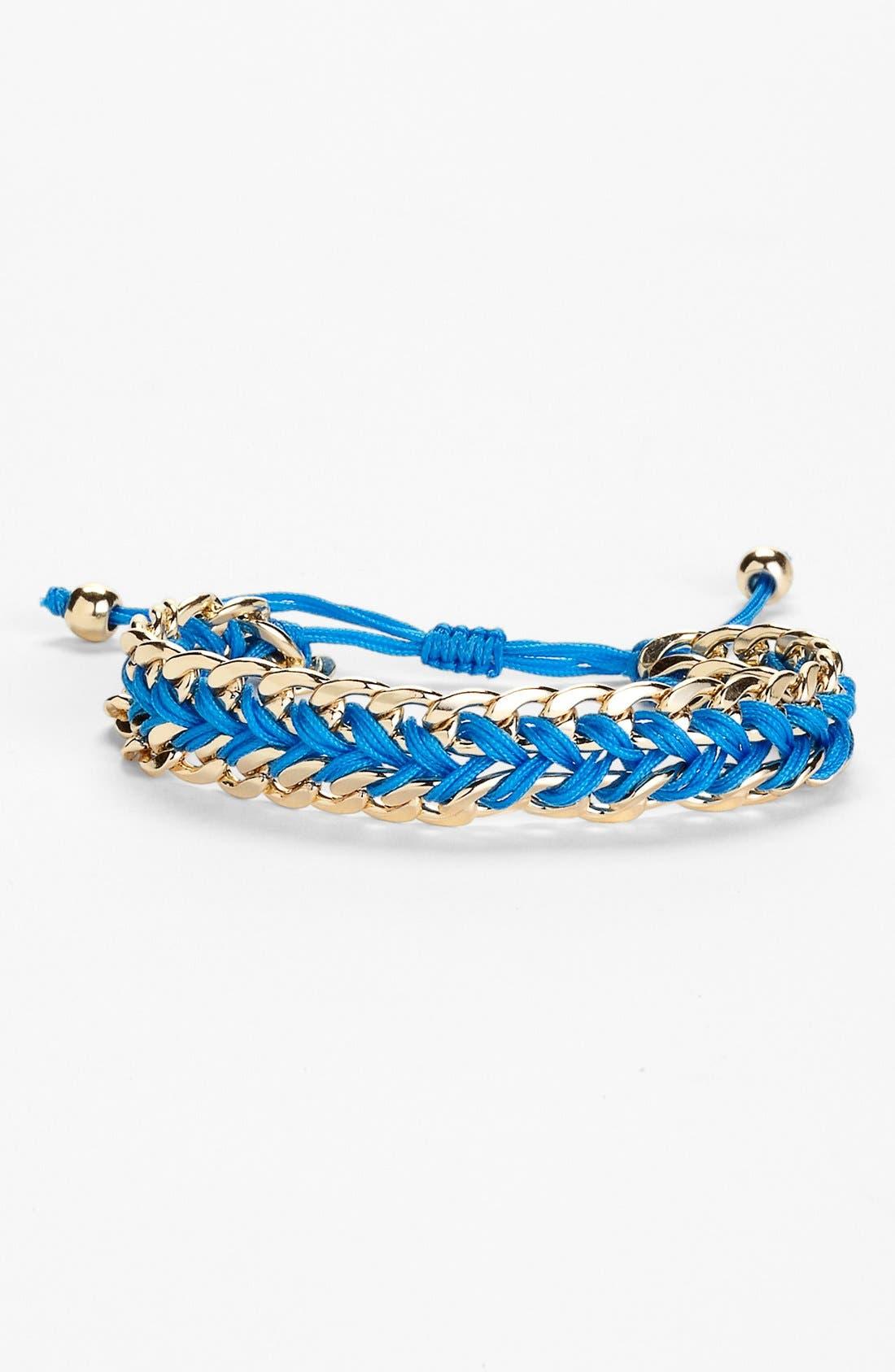Alternate Image 1 Selected - Tasha Cord & Link Friendship Bracelet