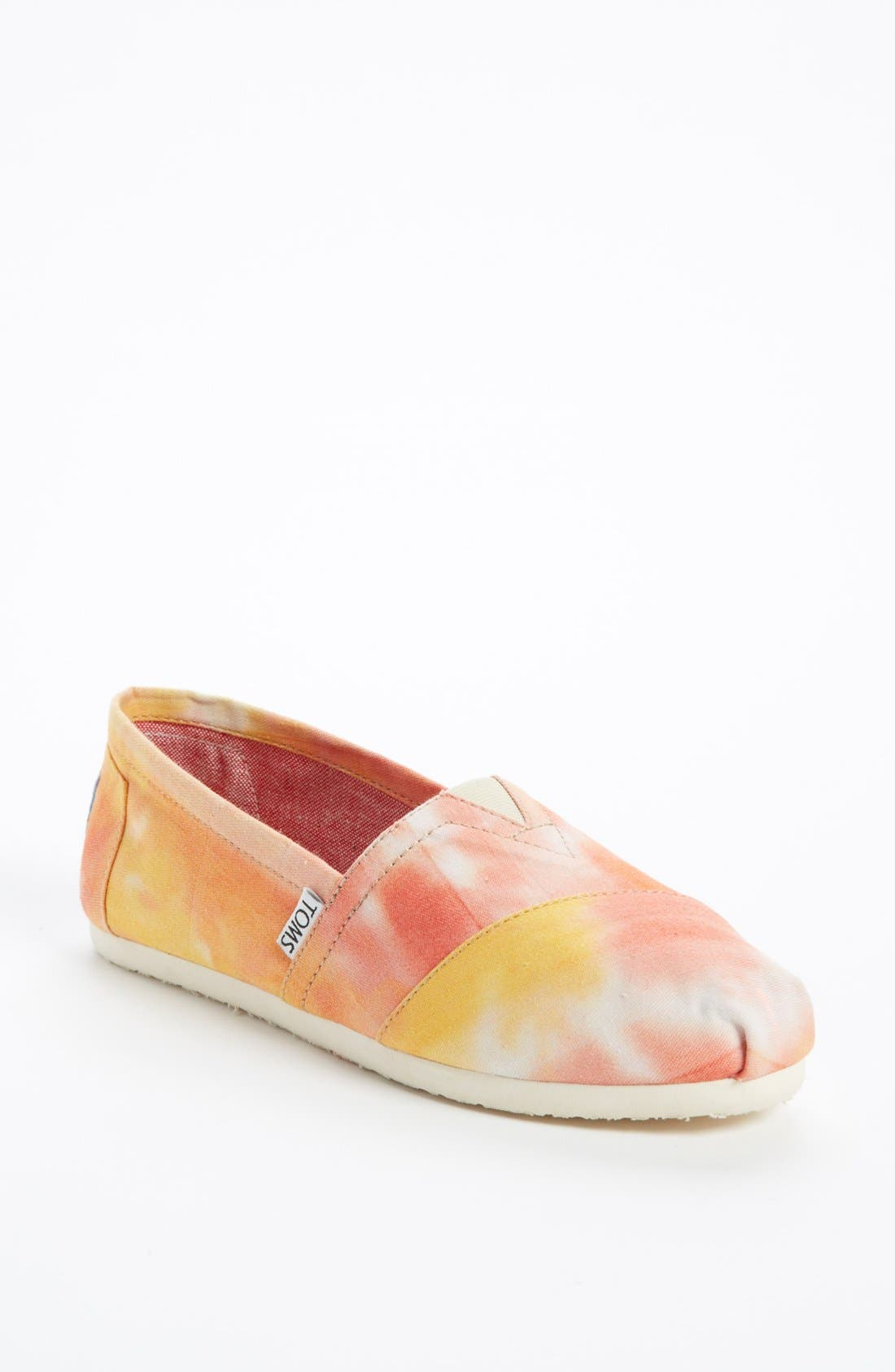 Alternate Image 1 Selected - TOMS 'Classic - Tie Dye' Slip-On (Women)