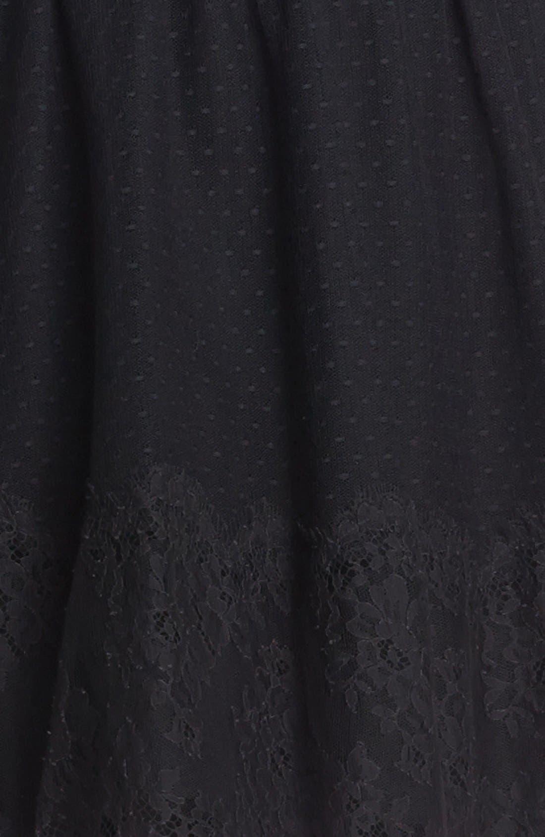 Alternate Image 3  - RED Valentino Point d'Esprit Dress