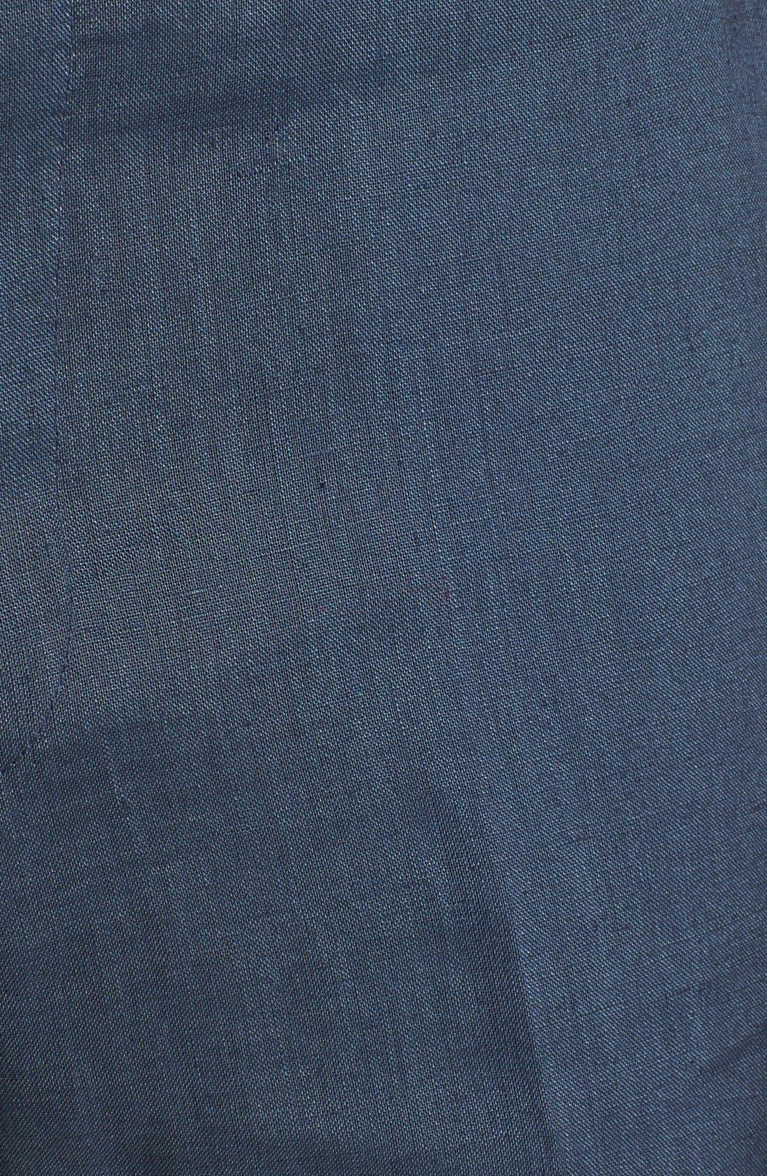 Alternate Image 3  - John Varvatos Star USA Red Label 'Petro' Linen Trousers