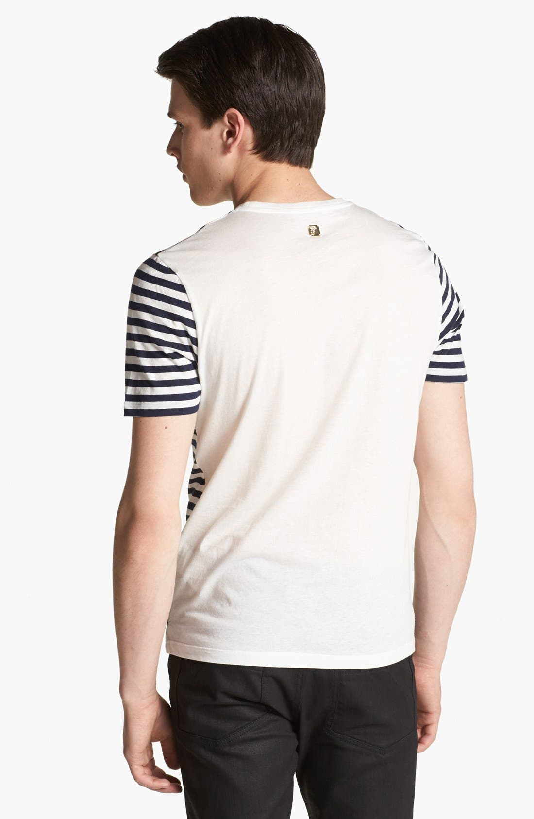 Alternate Image 2  - Versace Embroidered T-Shirt