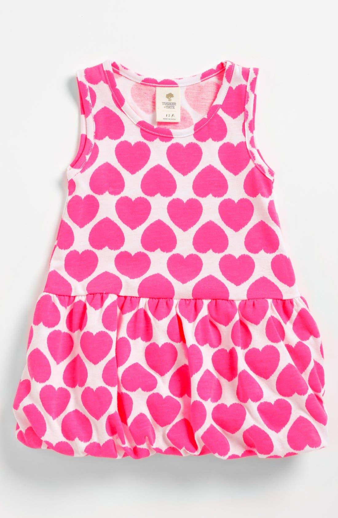 Main Image - Tucker + Tate 'Azure' Knit Dress (Toddler)