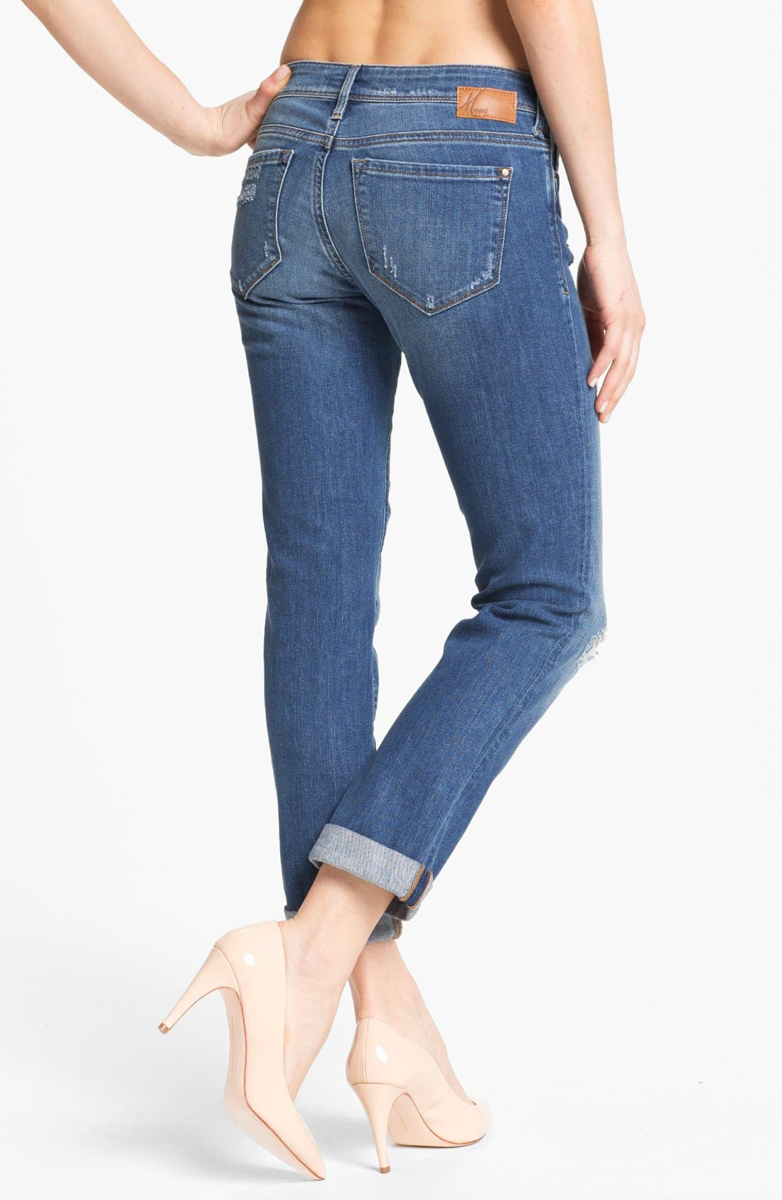 Alternate Image 3  - Mavi Jeans 'Emma' Slim Boyfriend Jeans (Nolita Blue) (Online Only)