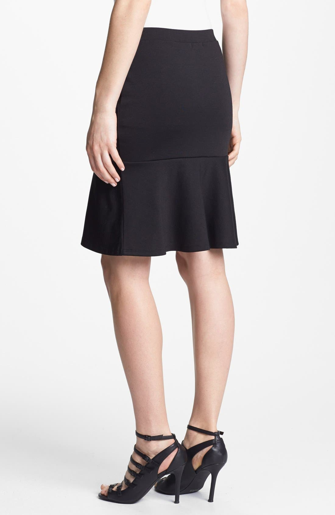 Alternate Image 2  - Hinge® Ruffle Hem Skirt