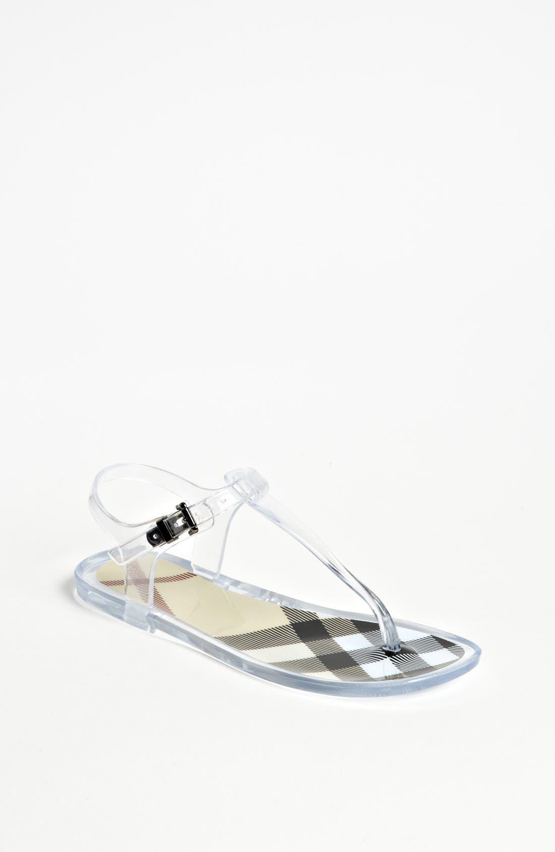 Alternate Image 1 Selected - Burberry 'Leamar' Sandal (Toddler, Little Kid & Big Kid)