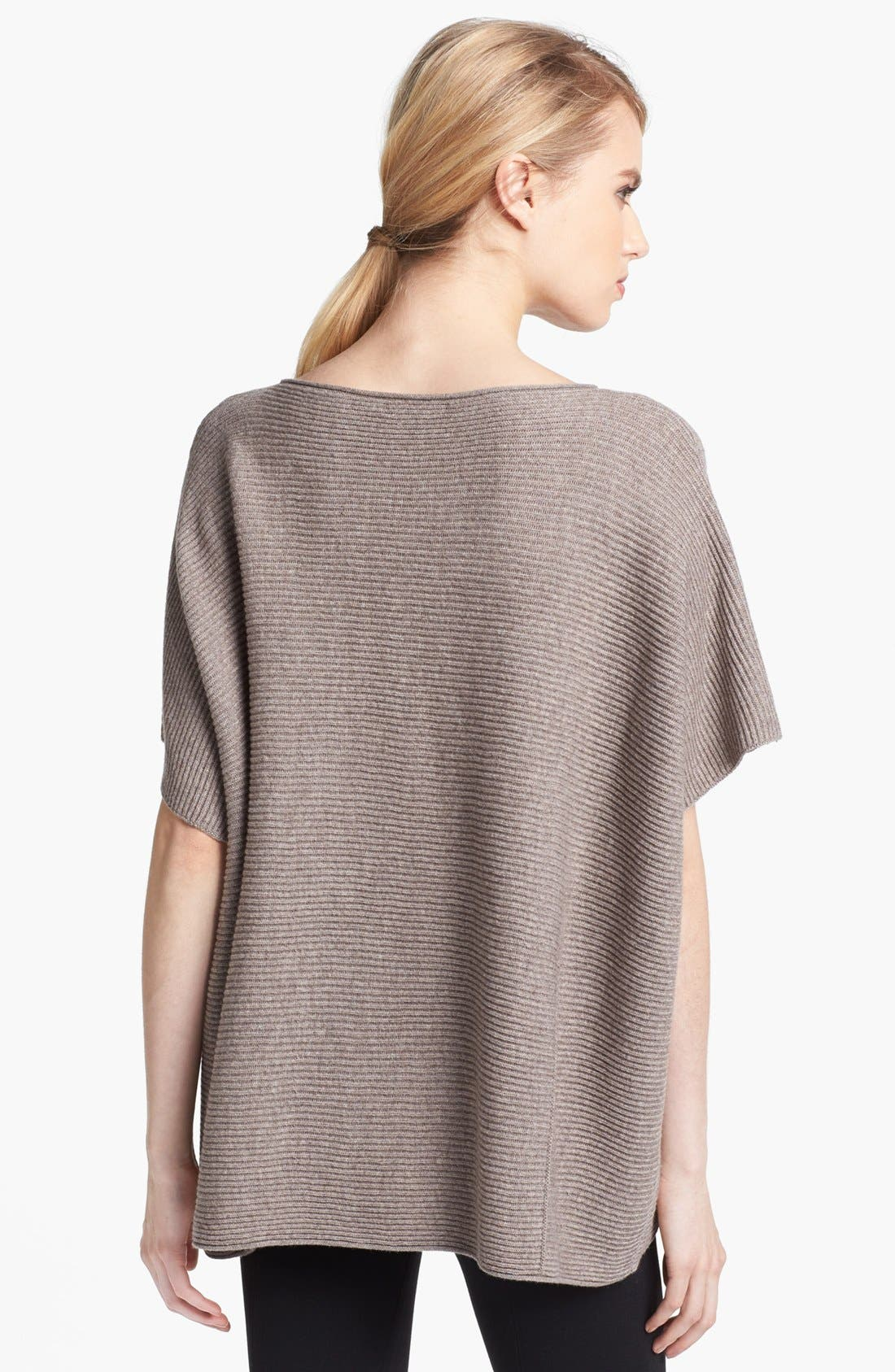 Alternate Image 2  - Vince Ribbed Poncho Sweater