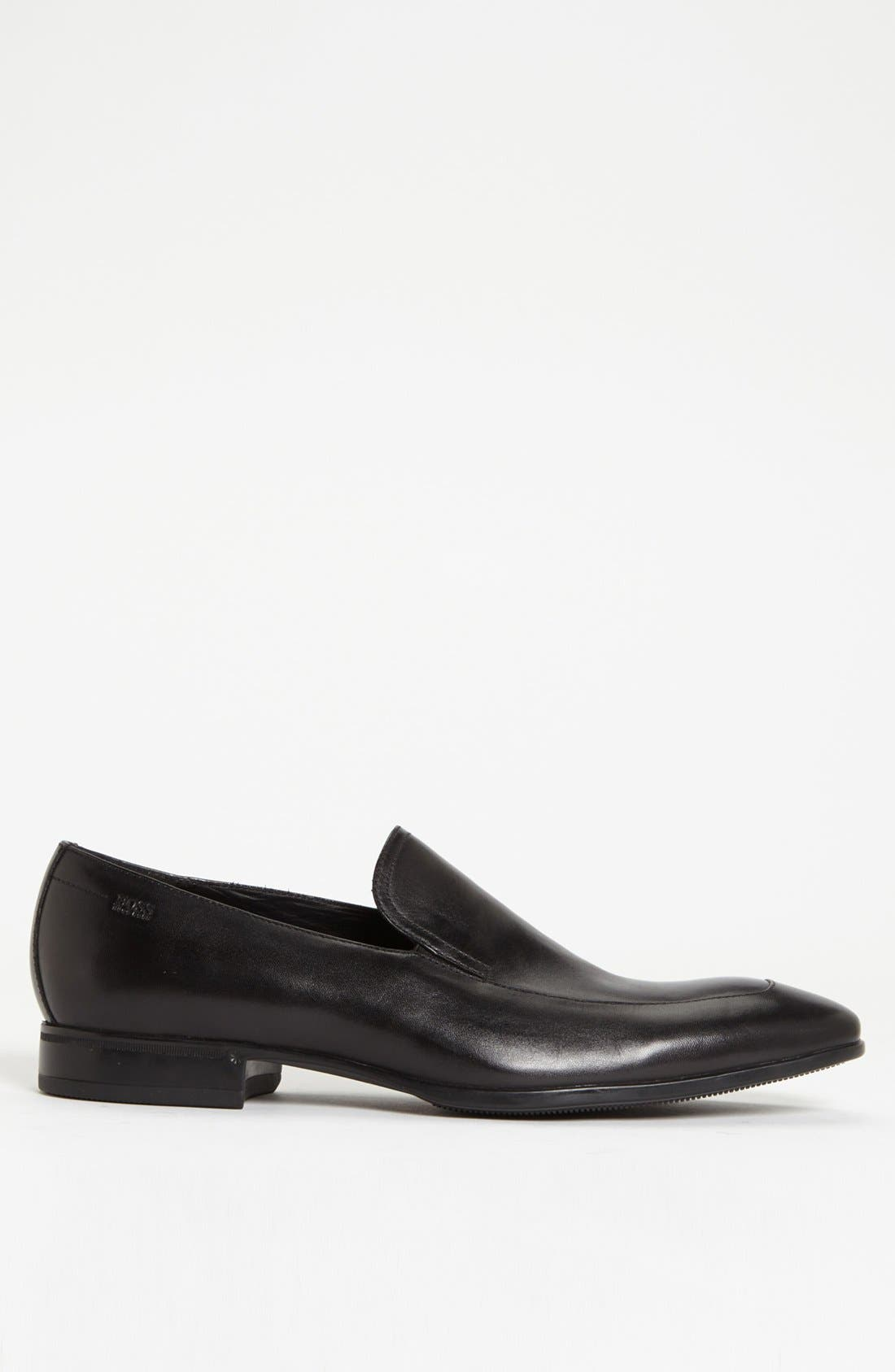 Alternate Image 4  - BOSS HUGO BOSS 'Varmons' Apron Toe Loafer (Men)