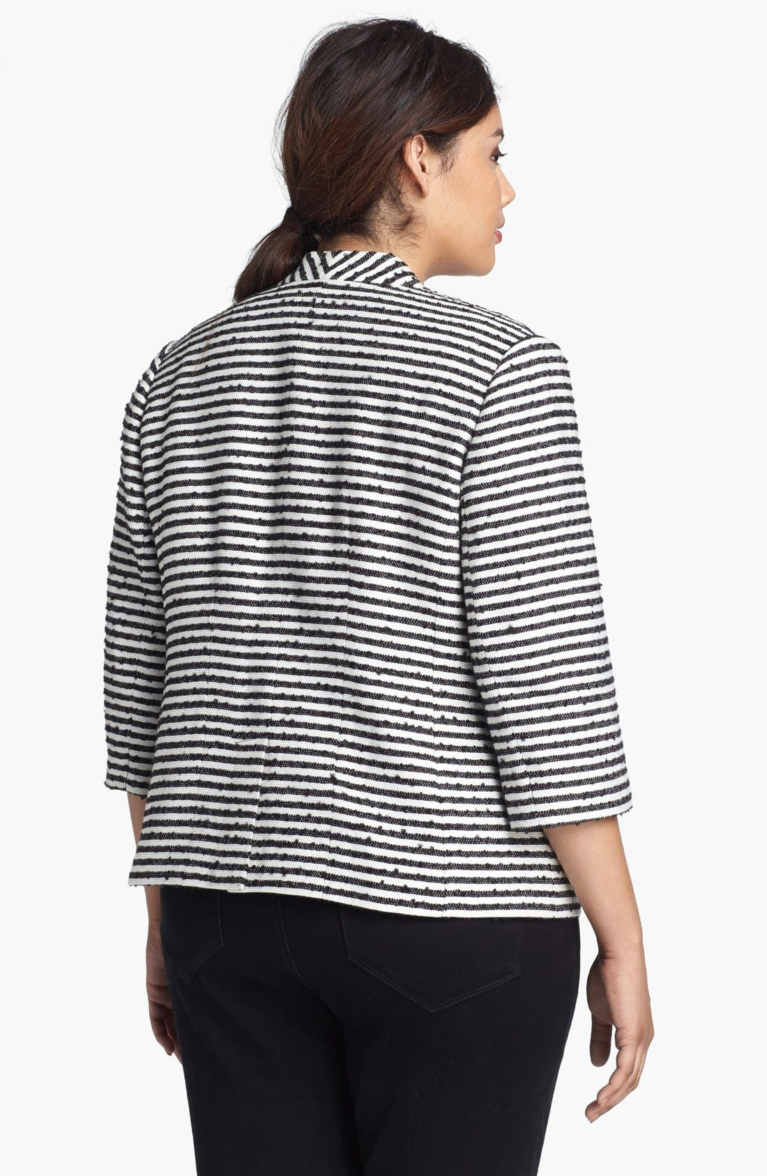 Alternate Image 2  - Sejour 'Barre' Tweed Jacket (Plus Size)