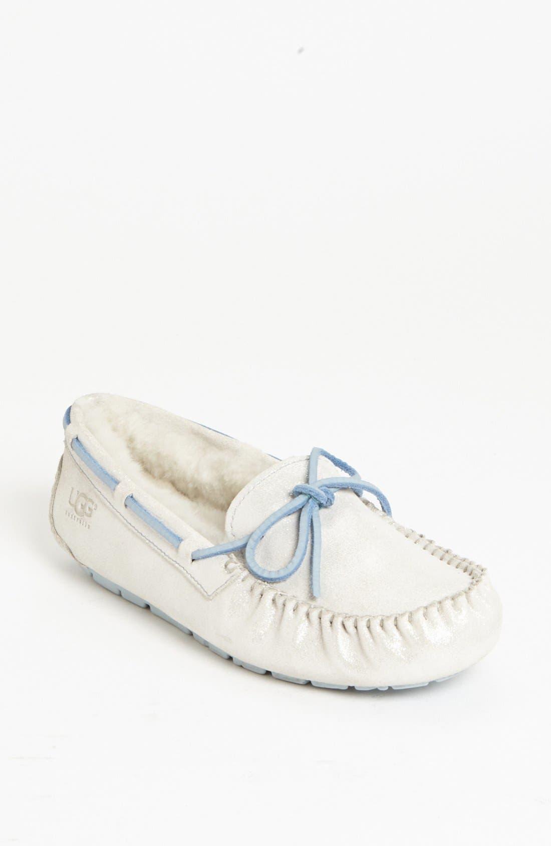 Alternate Image 1 Selected - UGG® Australia 'Dakota - I Do' Moccasin Slipper (Women)
