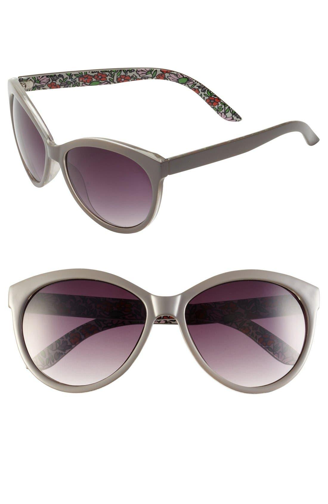 Main Image - FE NY Cat's Eye Sunglasses