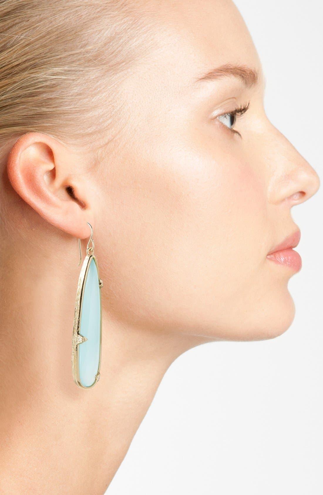 Alternate Image 2  - Melinda Maria 'Pyramid Pod - Corrina' Drop Earrings