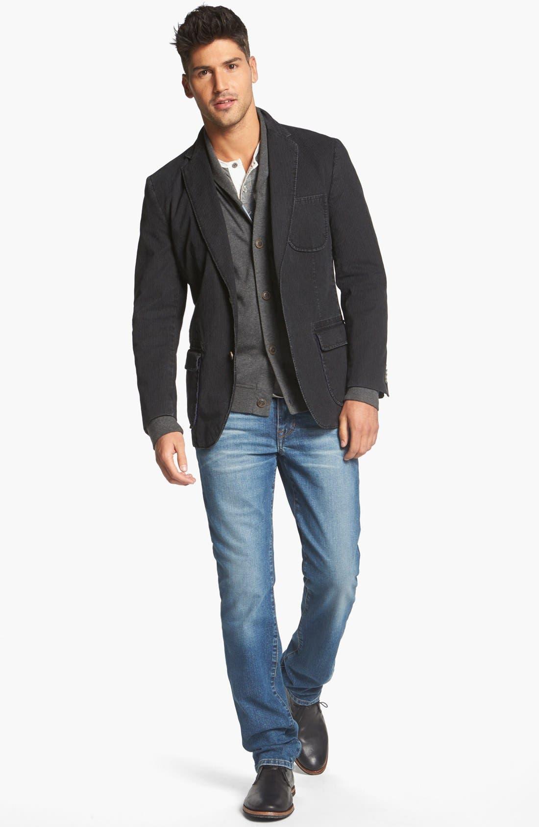 Alternate Image 4  - Ted Baker London 'Norre' Shawl Collar Knit Jersey Cardigan