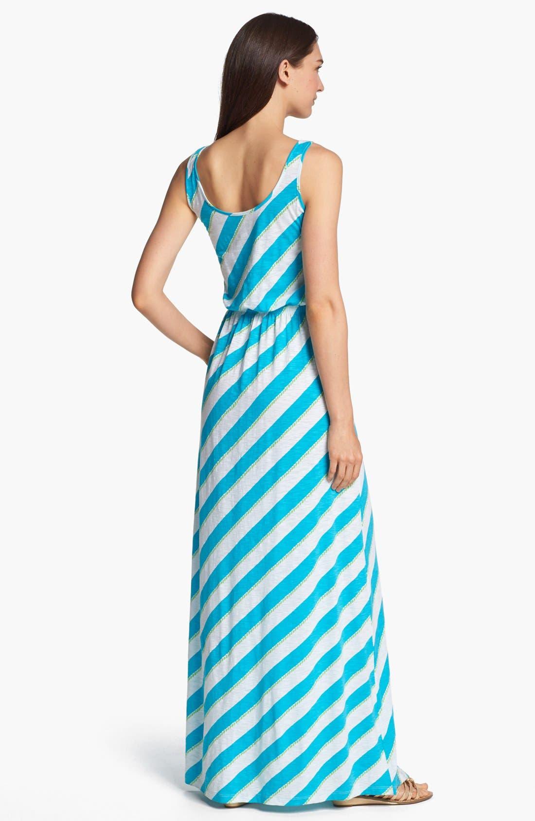 Alternate Image 2  - Lilly Pulitzer® 'Tria' Stripe Cotton Maxi Dress