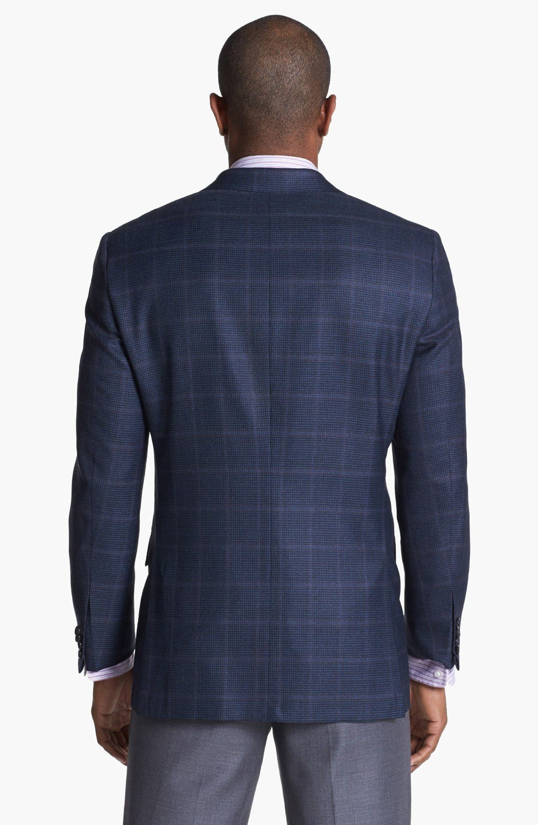 Alternate Image 3  - Hickey Freeman 'B Series' Plaid Wool Sportcoat