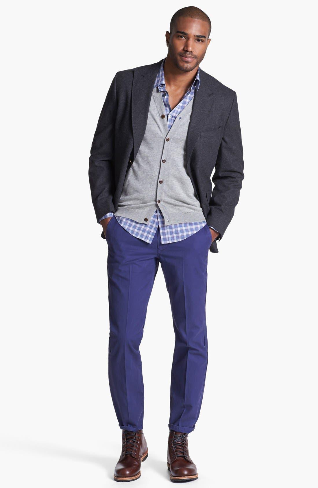 Alternate Image 4  - BOSS HUGO BOSS 'Ronny' Slim Fit Sport Shirt