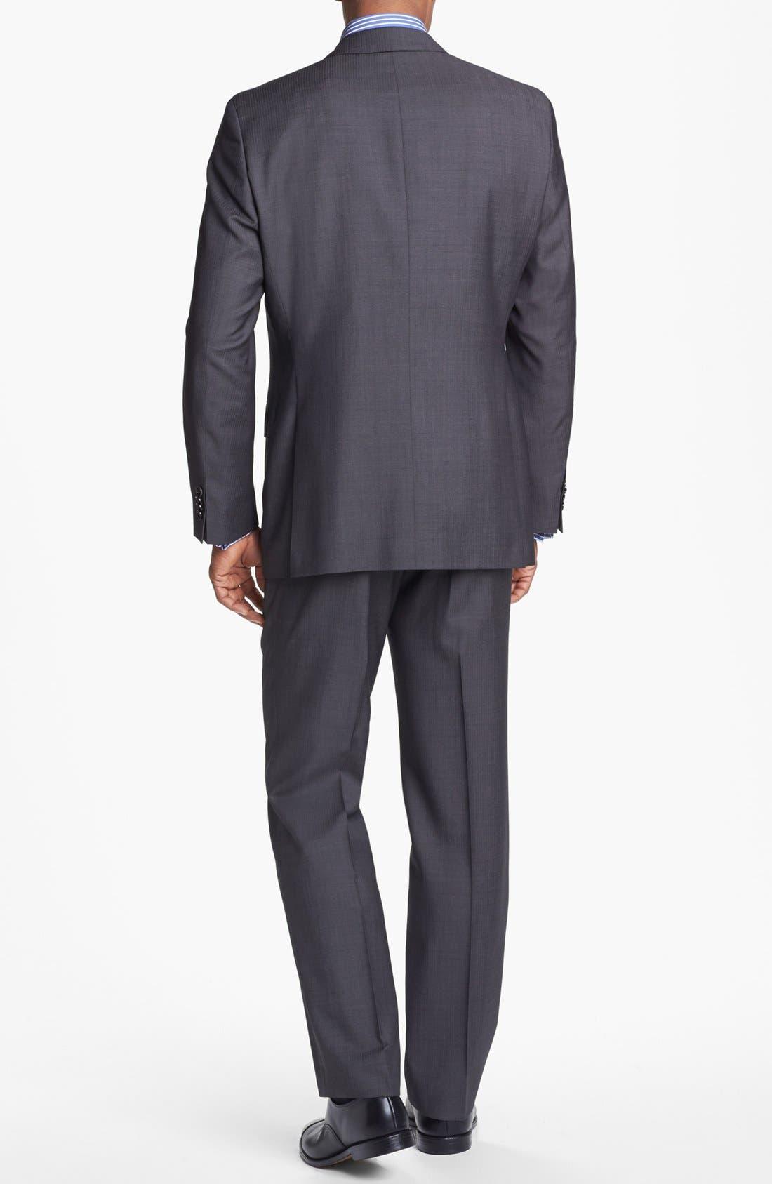 Alternate Image 3  - BOSS HUGO BOSS 'Edison/Power' Classic Fit Wool Suit