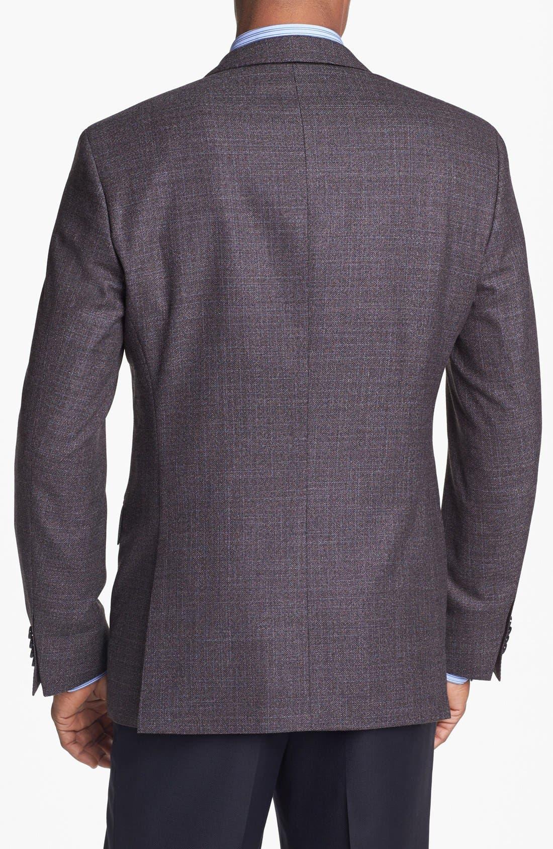 Alternate Image 3  - BOSS HUGO BOSS 'The Keys' Trim Fit Wool Sportcoat