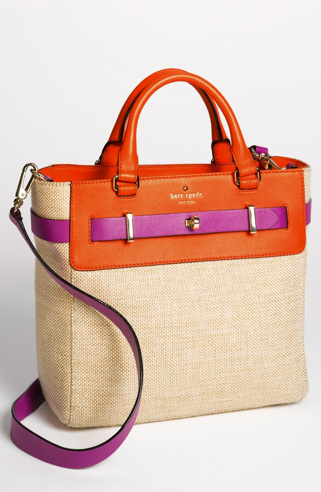 Main Image - kate spade new york 'bourbon street - fabric skyler' tote