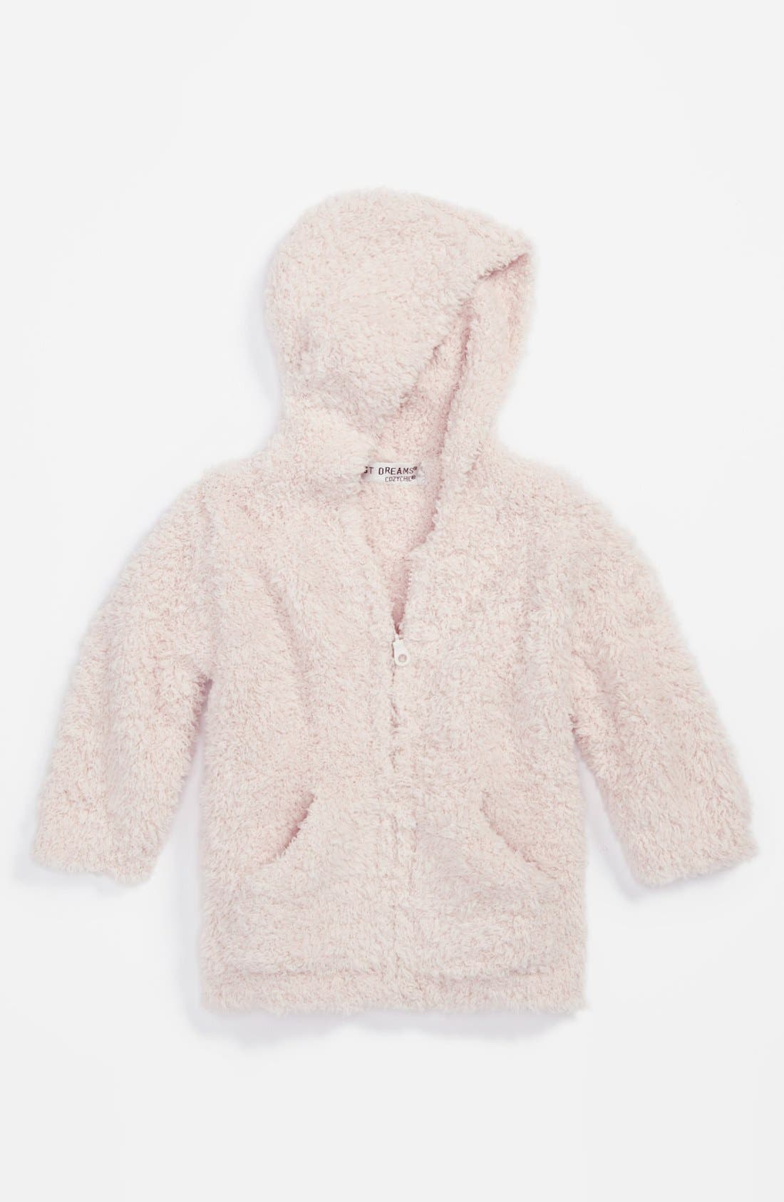 Alternate Image 1 Selected - Barefoot Dreams® CozyChic® Hooded Jacket (Infant)