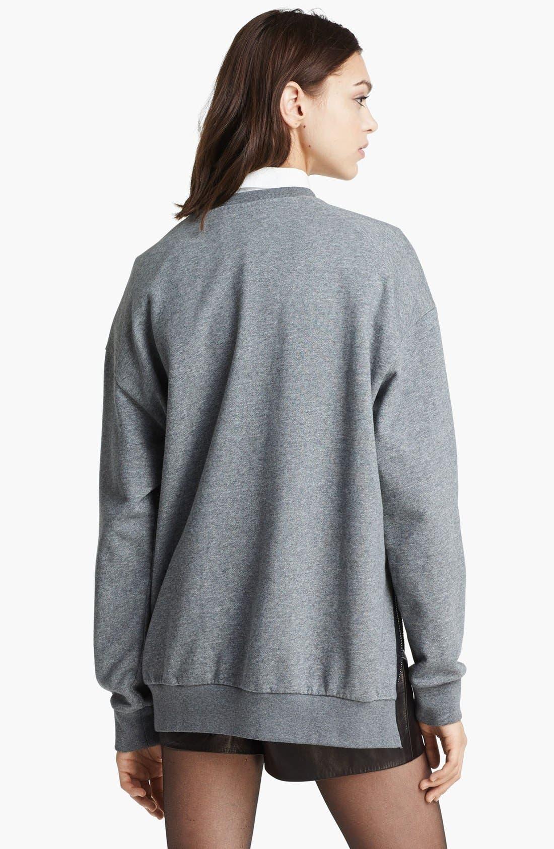Alternate Image 5  - 3.1 Phillip Lim Quilted Phoenix Oversized Sweatshirt