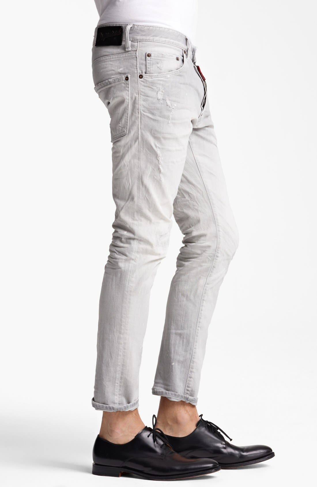 Alternate Image 3  - Dsquared2 'Cool Guy' Skinny Fit Jeans (Grey)
