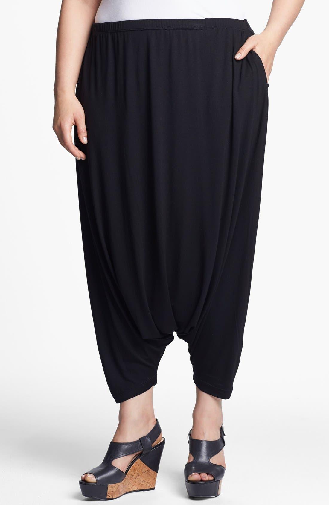 Alternate Image 1 Selected - Eileen Fisher Harem Pants (Plus Size)