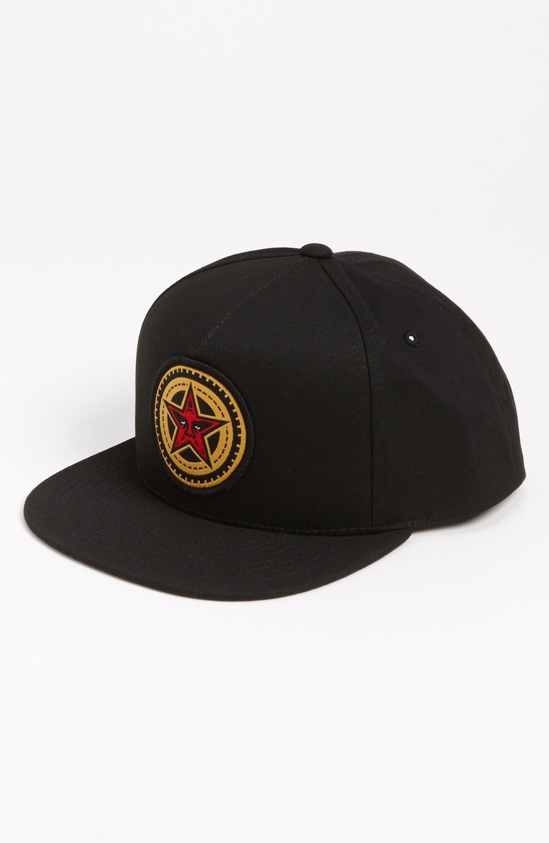 Main Image - Obey 'Gears' Snapback Hat