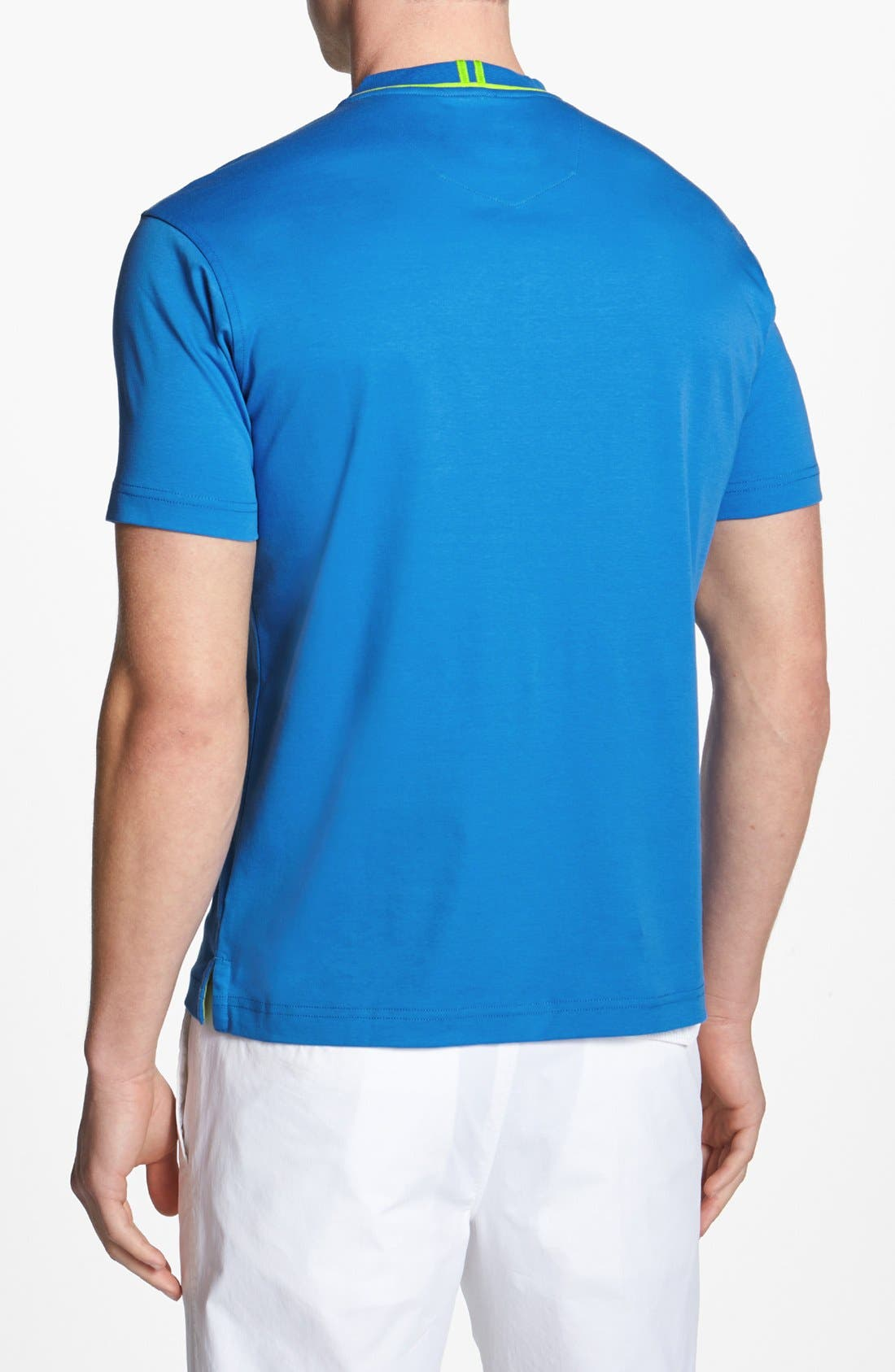 Alternate Image 2  - Robert Graham 'Nevis' V-Neck T-Shirt