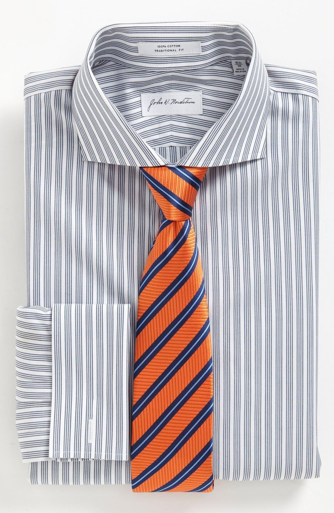 Alternate Image 3  - John W. Nordstrom Traditional Fit Dress Shirt