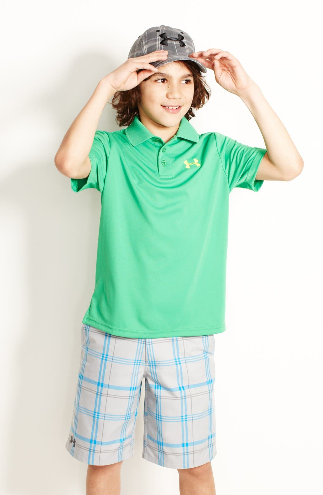 Alternate Image 1 Selected - Under Armour Polo & Shorts