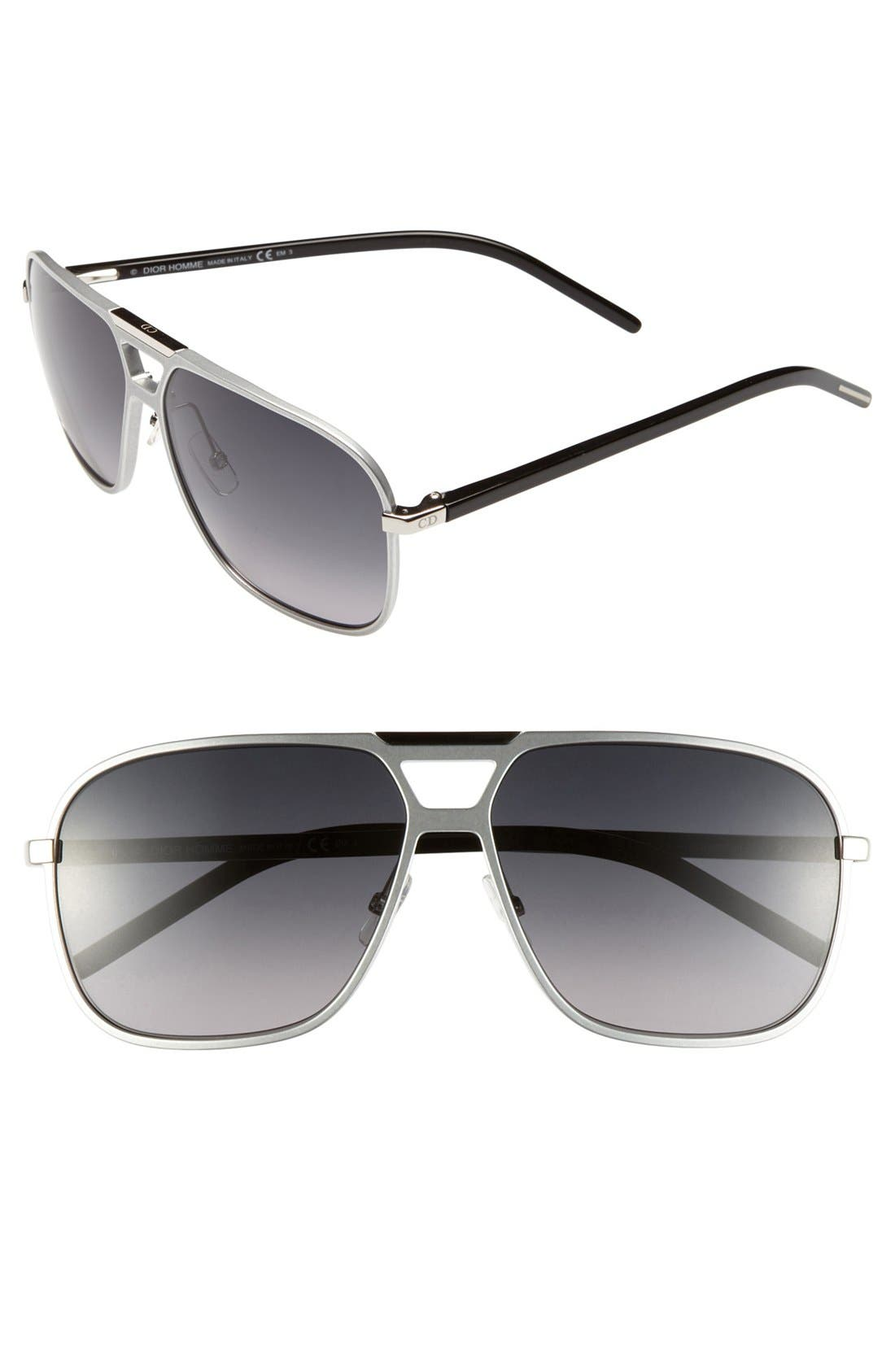 Main Image - Dior Homme '134S' 61mm Sunglasses