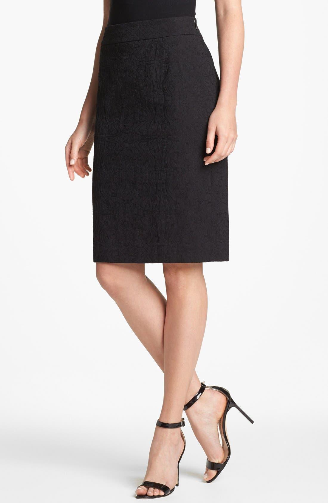 Alternate Image 1 Selected - Classiques Entier® 'Bursa Jacquard' Skirt